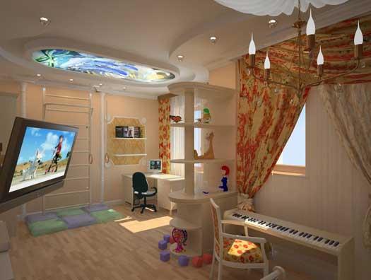 Комната для девочки дошкольного и раннего школьного возраста