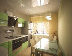 интерьер небольшой кухни