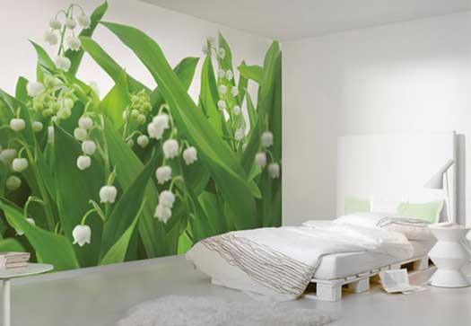 Фотообои в спальню: плюсы и минусы