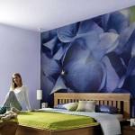 интерьеры спален с фотообоями фото