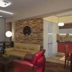 кухня гостиная со сносом стены