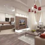 интерьеры кухонь гостиных