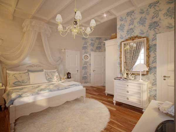 аксессуары для спальни в стиле прованс