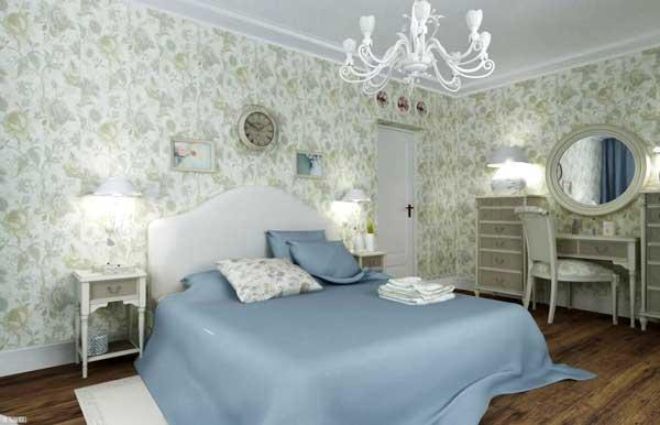 ткани для спальни в стиле прованс