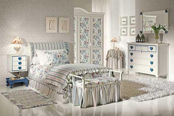 декоративные элементы для спальни в стиле прованс