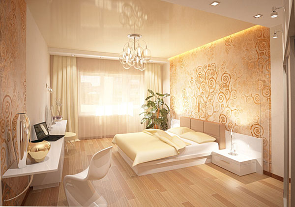 Дизайна спальни в квартире фото