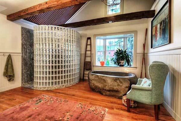 роскошная ванная комната
