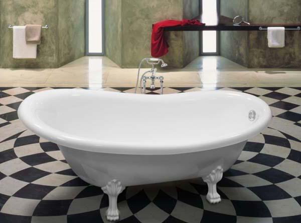 оригинальная форма ванны