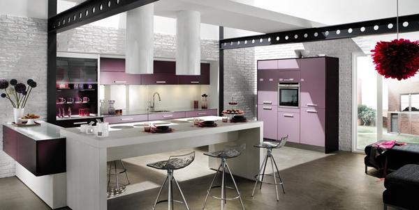 особенности кухни в стиле лофт