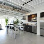 Кухонное пространство в стиле лофт