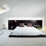 Строгая простота спальни