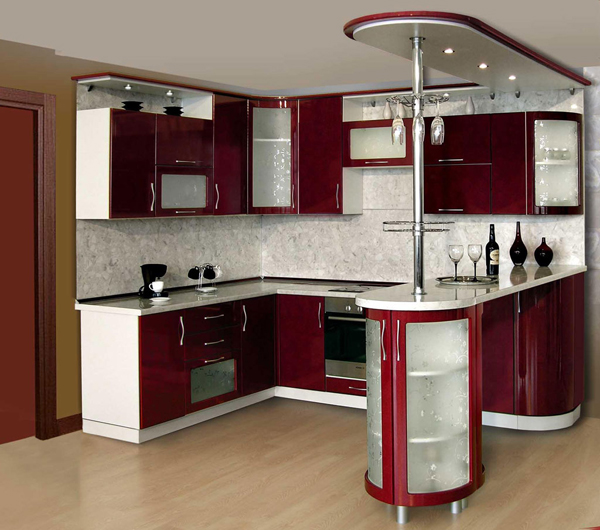 Интерьер для угловой кухни фото 18