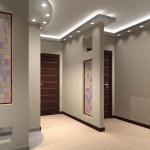 Светлые стены в дизайне прихожей