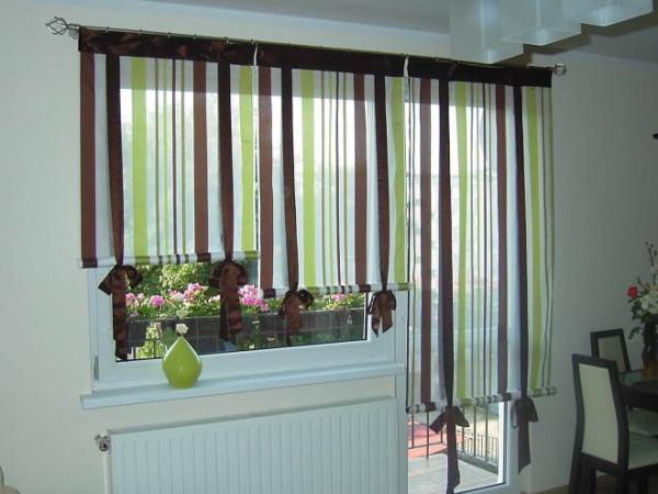 Цветовая гамма для римских штор на кухню