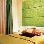 Зеленые стеновые панели