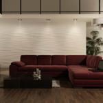 Оформление интерьера декоративными панелями