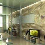 Стеновые панели из мягкого МДФ