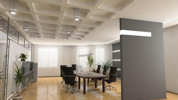 Офис в стиле хай тек