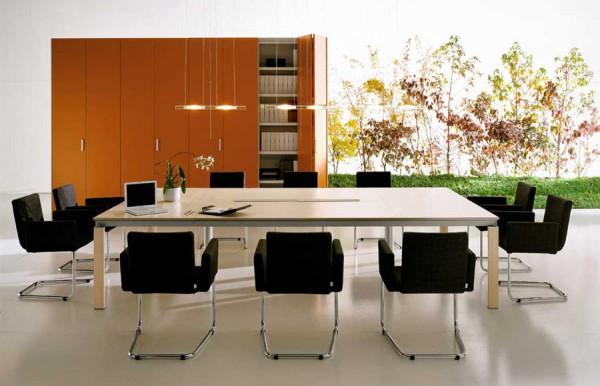 Офис в стиле модерн