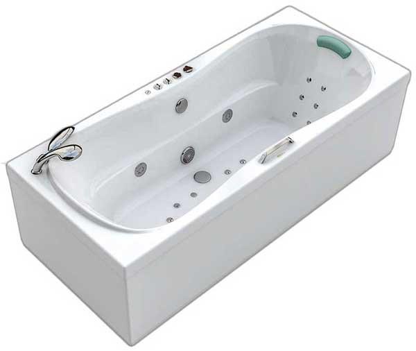 Акриловая ванна джакузи