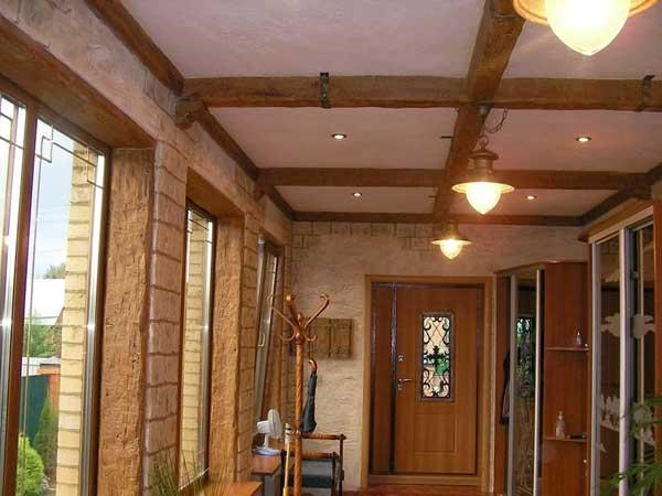 Балки декоративные потолочные в классическом стиле