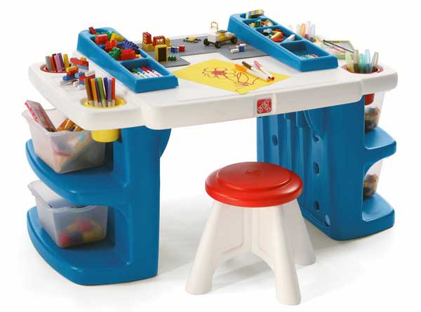 Детские письменные столы для школьника из пластика