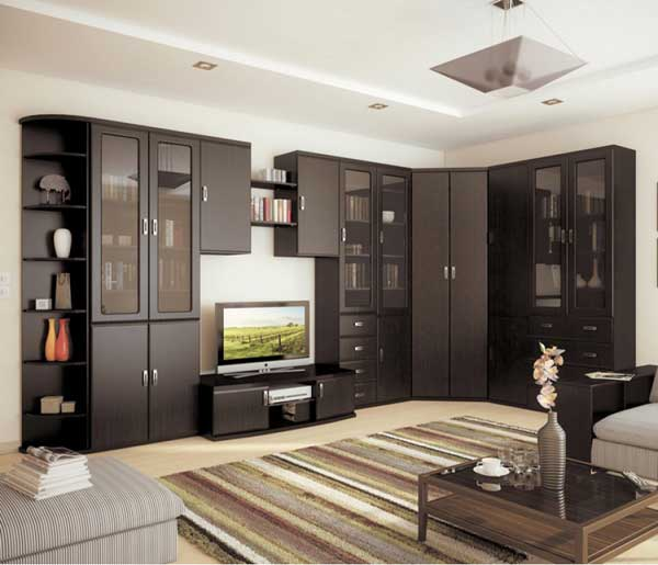 модульные системы для гостиной