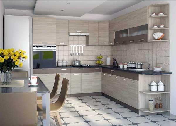 Виды доступных угловых кухонь