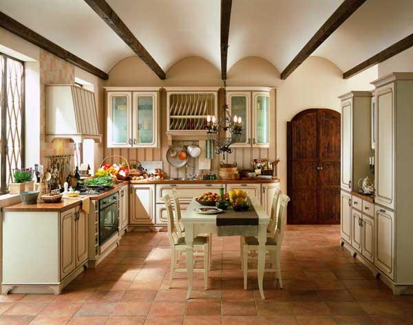 Особенности мели в кухне стиля прованс