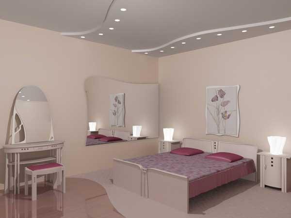 Выбираем дизайн потолков в спальне