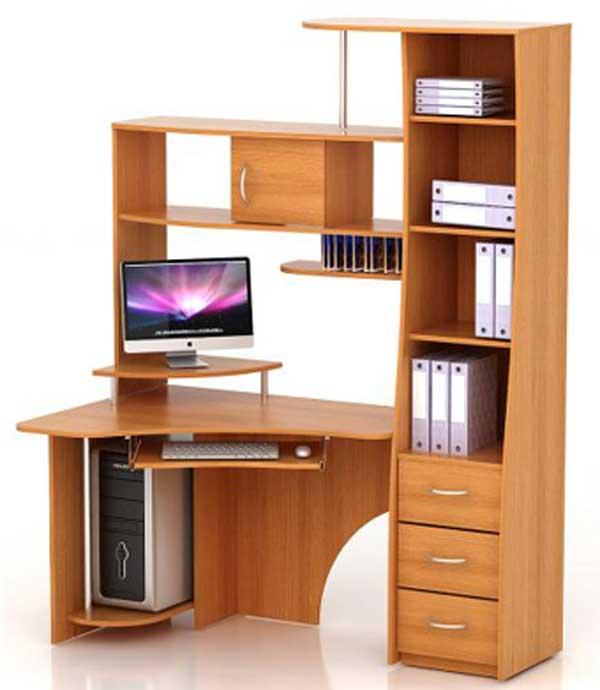 Преимущества угловых столов для офиса