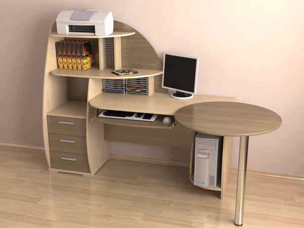Из чего делают угловые столы для офиса