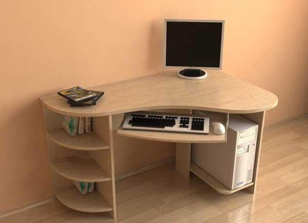 Угловые столы для офиса из ДСП