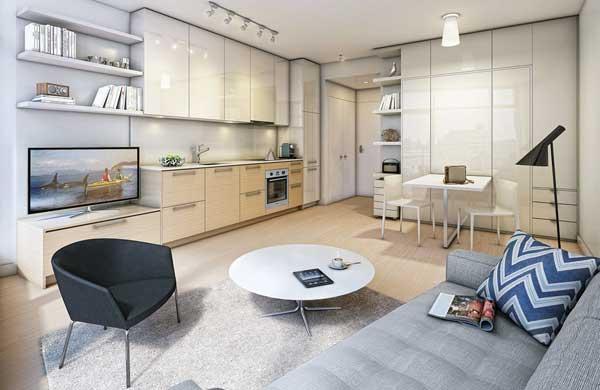 10 советов по оформлению маленькой квартиры