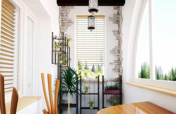 Идеи для дизайна узкого балкона