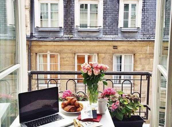 Маленький сад на балконе