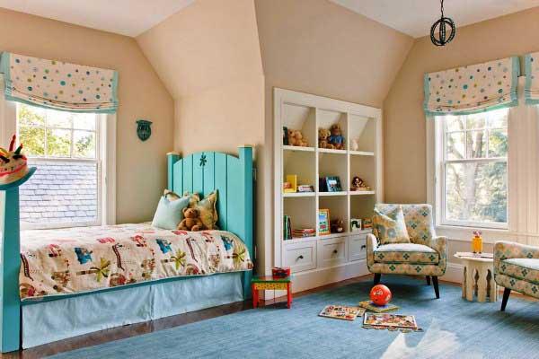 Детское помещение для двух девочек