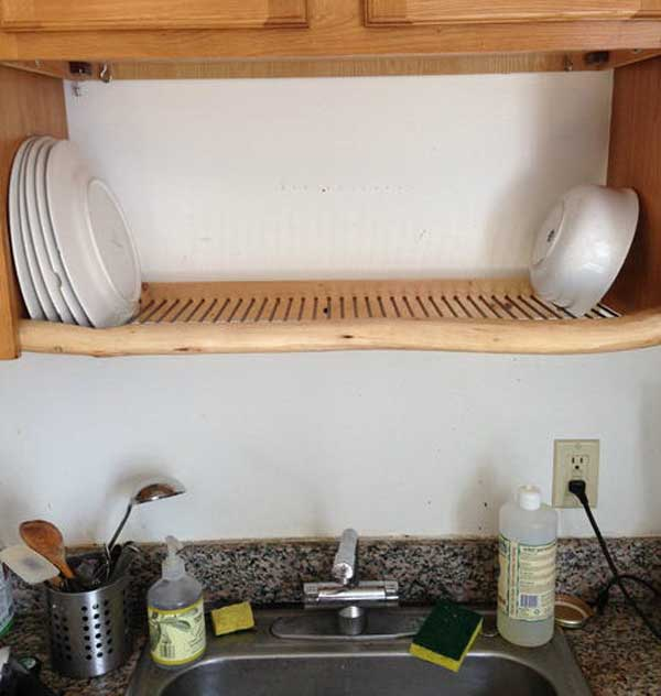 Перенос сушилки для тарелок