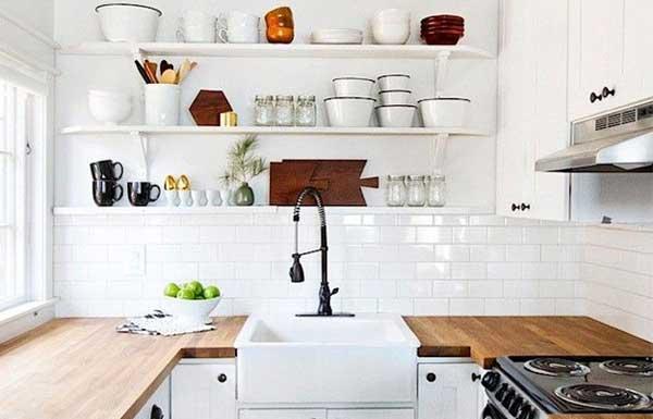 Несколько необычных материалов для кухонной столешницы