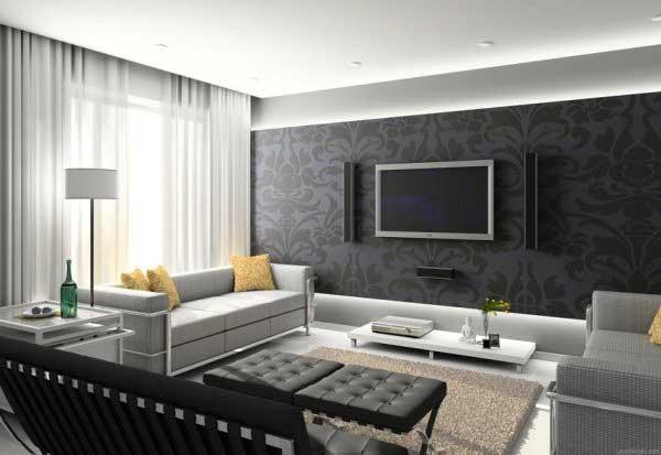 Цветовое решение для гостиной комнаты