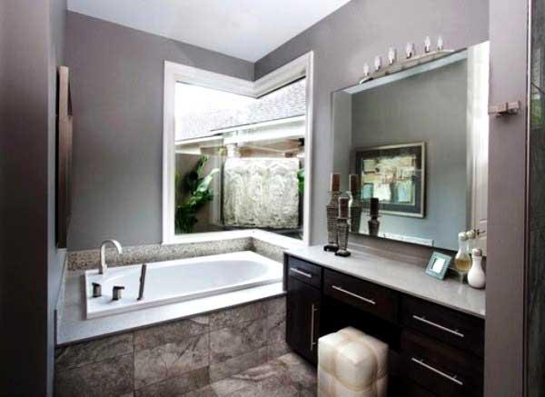 Цветовое решение для ванной комнаты