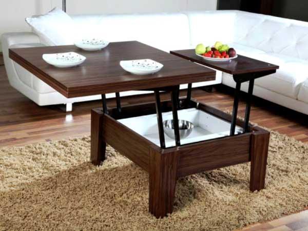 Какой стол-трансформер пригодится в гостиной