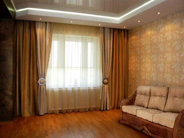 Красивые портьеры для гостиной