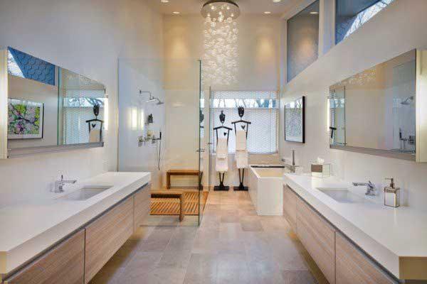 Актуальный для 2016 года дизайн ванной