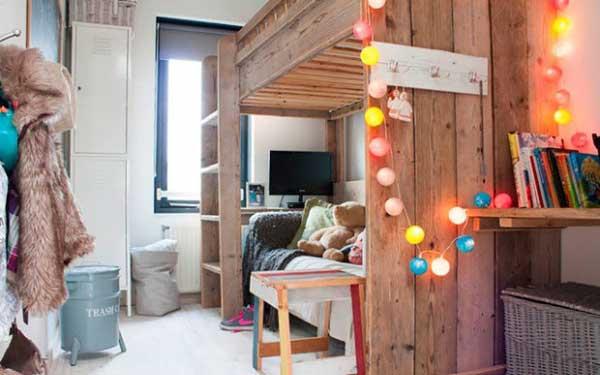 Стильное помещение в общежитии