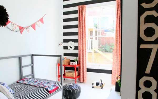 Оригинальный дизайн комнаты в общежитии