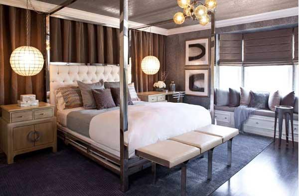 Оригинальная кровать для спальной комнаты