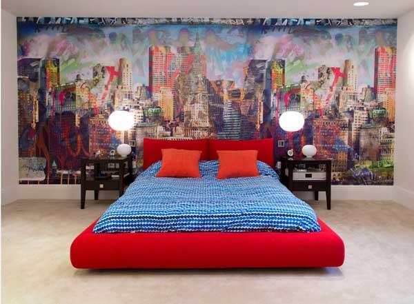 Оригинальный дизайн кровати для спальни