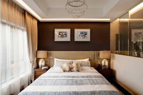 Как оформить стены в спальне в современном стиле