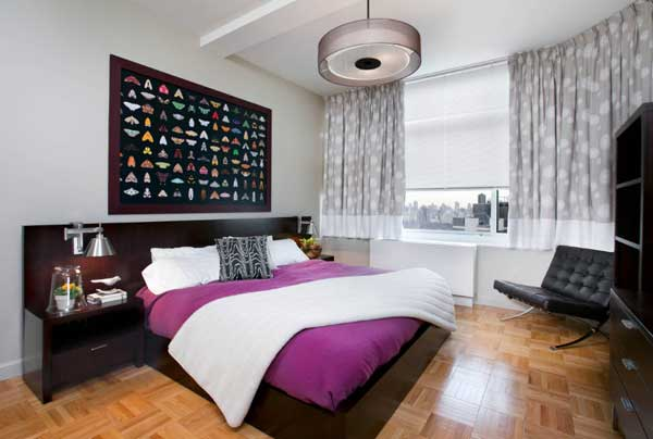 Выбор кровати для спальни в современном стиле